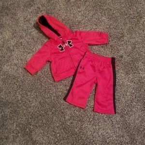 Infant under armour track suit